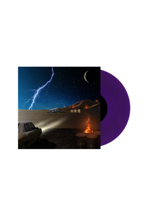 DZ Deathrays - Positive Rising: Part 2 Translucent Purple Vinyl by I Oh You
