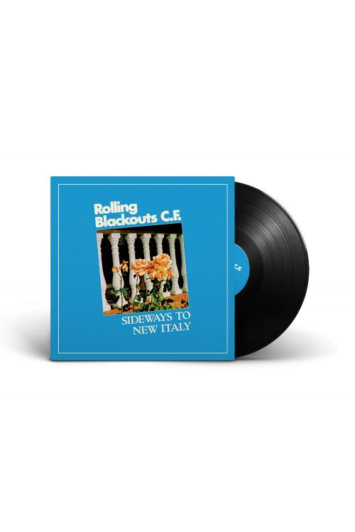 Rolling Blackouts Coastal Fever – Sideways to New Italy (Black Vinyl) by I Oh You
