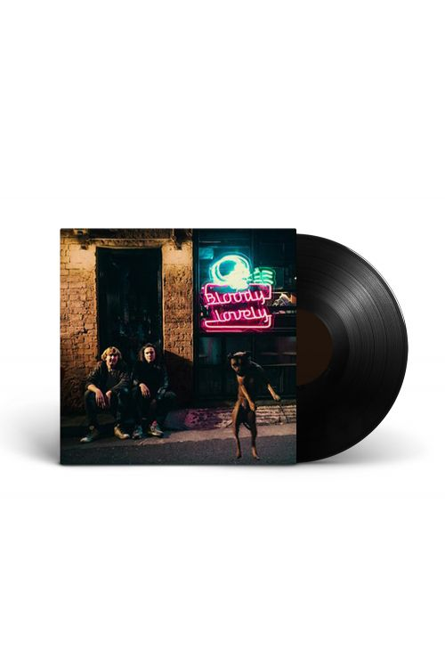 DZ Deathrays - Bloody Lovely 180gm black vinyl, includes download by I Oh You