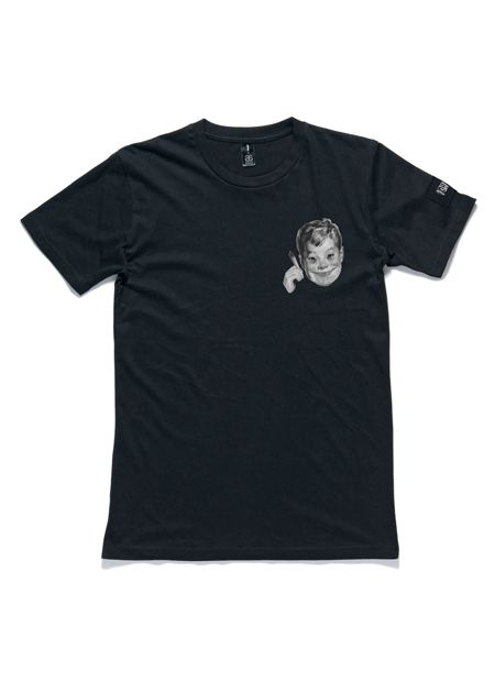 Baked Not Fried Black Tshirt by I Oh You