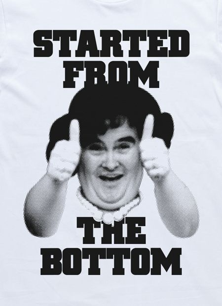 The Underdogs: Started From The Bottom Tee (White) by I Oh You