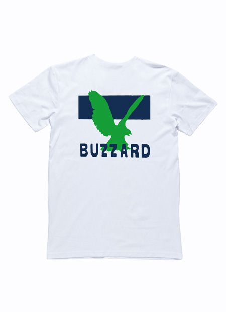 I OH YOU x Green Buzzard White Tee by I Oh You