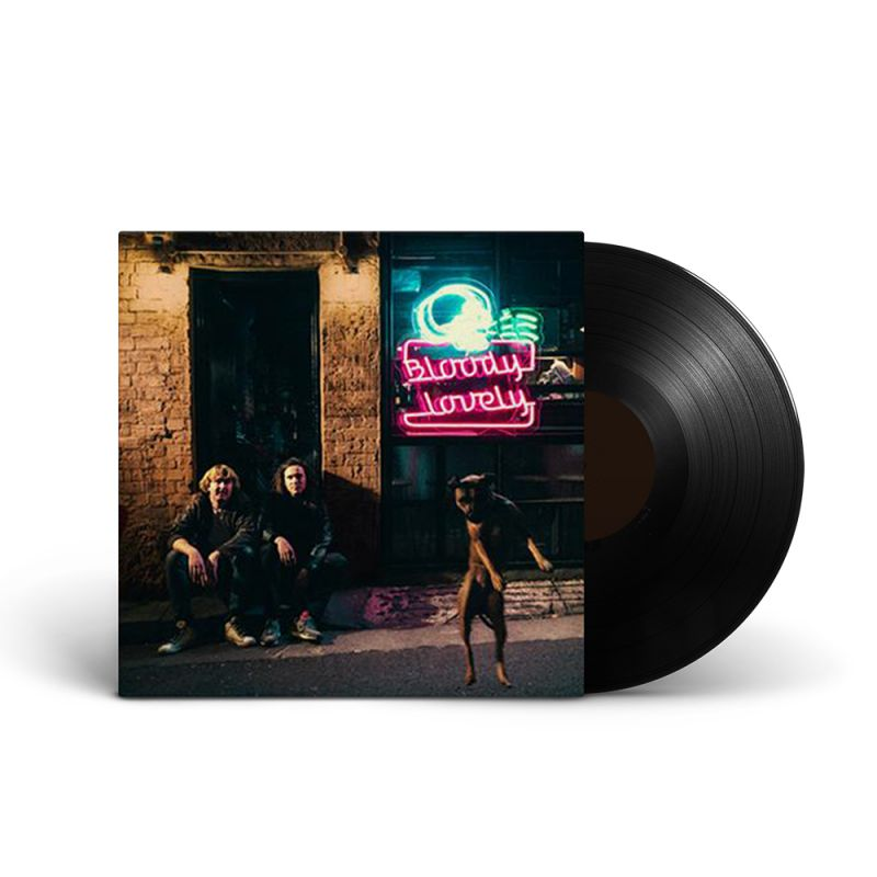 DZ Deathrays - Bloody Lovely 180gm black vinyl, includes download