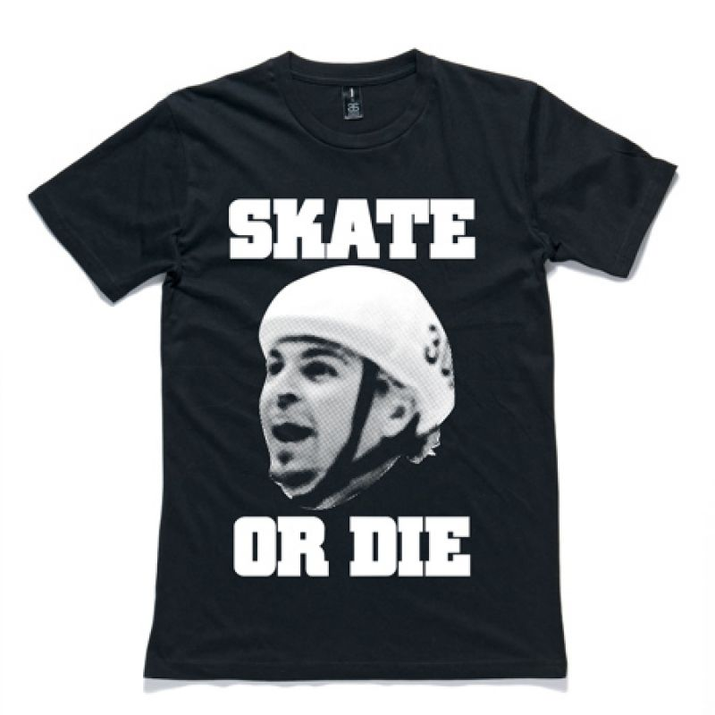 The Underdogs: Skate Or Die Tee (Black)